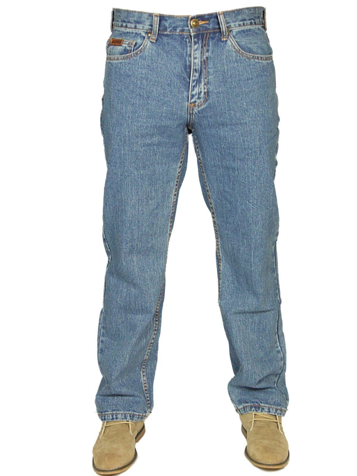 BNWT FARAH MENS LATEST DENIM JEANS STRAIGHT LEG BLACK BLUE SIZES 30-46 OFFER