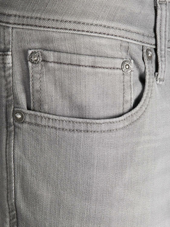 Jack Jones Mens Slim Fit Jeans Stretch Skinny Blue Denim Pants Casual Trousers
