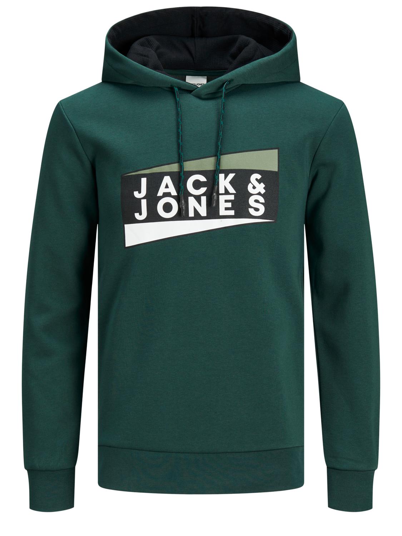 Jack /& Jones Mens Hoodie Regular Fit Long Sleeve Hooded Smart Casual Sweatshirts