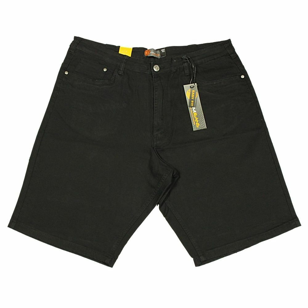 KAM Mens King Big Size Chino Stretch Shorts Casual Easy Fit Summer 40-70